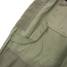 Philip Lam Sage Green Cotton Blend Satin Silk Trim Belted Zipper Cuff Pants SZ 6