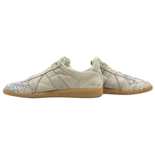 LNIB Maison Martin Margiela Replica Paint Splatter Low-Top Sneakers 43EU/10US