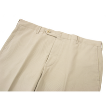 LNWOT Rota Tan Brushed Cotton Half Lined Flat Front Pants 38W/54EU