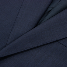 NWT Zegna Mila Spruce Blue Wool Silk Lined Dual Vents Flat Front 2Btn Suit 44S