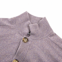 Brunello Cucinelli Heather 100% Cashmere Knit Bomber Sweater Jacket 52EU/ L