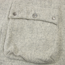 Engineered Garments Grey Wool Tweed Hooded Toggle Duffle Coat Medium