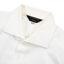 Zegna Couture White MOP Btns French Cuff Spread Collar Dress Shirt 40EU/15.75US
