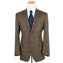 CURRENT Isaia Brown Blue Maroon 93% Cashmere Basketweave Vented 2Btn Jacket 42L