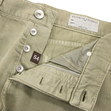 NWT Brunello Cucinelli Taupe Denim Leather Jacron 5-Pocket Jeans 54EU/38W