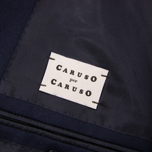 LNWOT Caruso Navy Blue Wool Twill Lined Surgeon Cuff Dual Vents 2Btn Jacket 42R