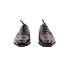NIB $1315 Edward Green Inverness E888 Burgundy Antique Wingtip Shoes + Trees