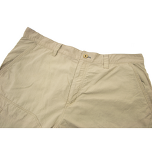 Patagonia Tan Nylon Unlined Elasticized Waist Paneled Flat Front Shorts 2XL
