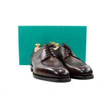 NIB $1585 Edward Green Dover E888 Dark Oak Antique Leather Shoes + Trees