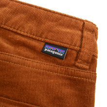 Patagonia Fire Orange Cotton Ribbed Velvet Unlined 5-Pocket Jean Cut Pants 31W