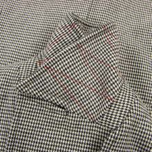 LNWOT Isaia Black White Wool Flannel Houndstooth Dbl Breasted Peacoat 40R