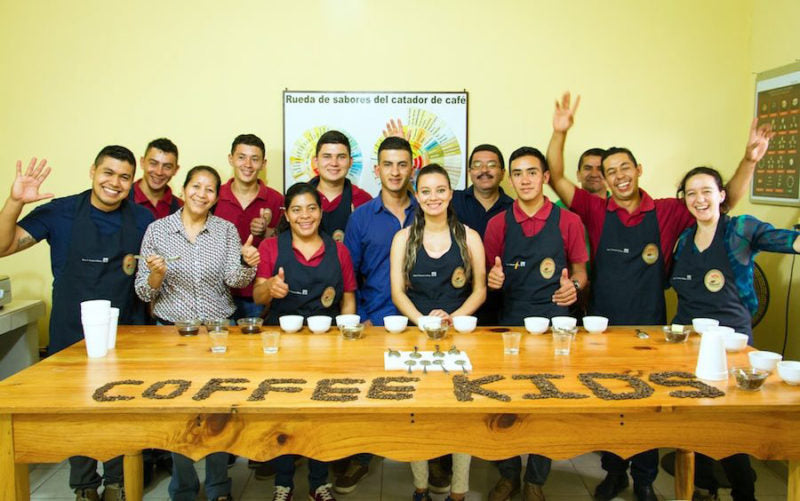 Honduras Coffee Kids Header