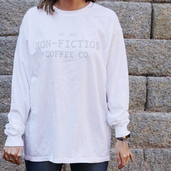 Non-Fiction Long Sleeve White