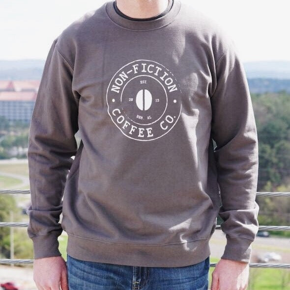 Non-Fiction Coffee Sweatshirt