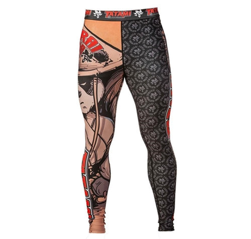 "Tatami ""Samurai Panda"" Women's Spats By Tatami X Chris Burns"