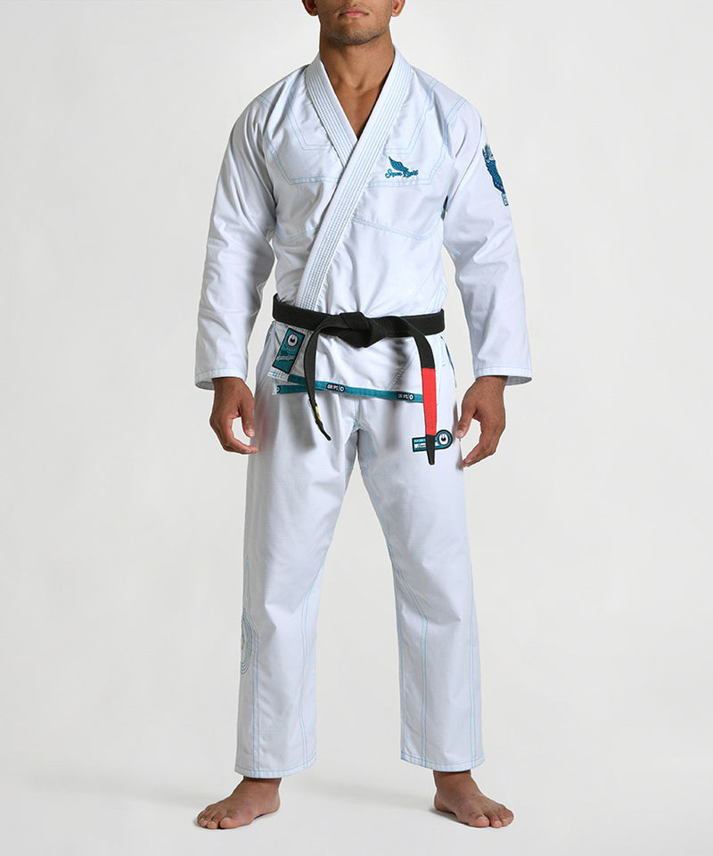 "Grips ""Superlight"" BJJ Gi - White"