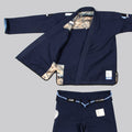 "Kitsune ""Views"" Women's BJJ Gi - Navy Blue"