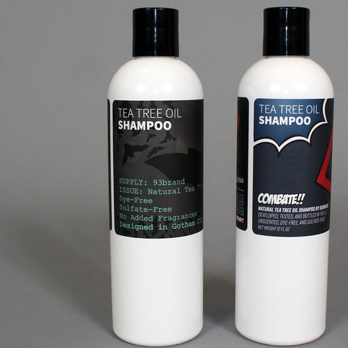 93brand Tea Tree Oil Shampoo 2-PACK *New Formula*