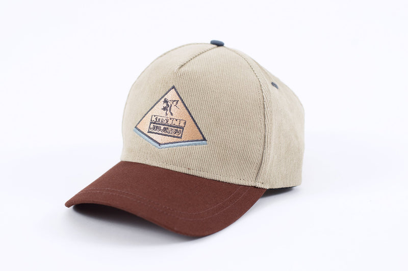 Kitsune Corduroy Panel Hat