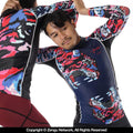 "93brand ""Tiger"" Women's Rash Guard"