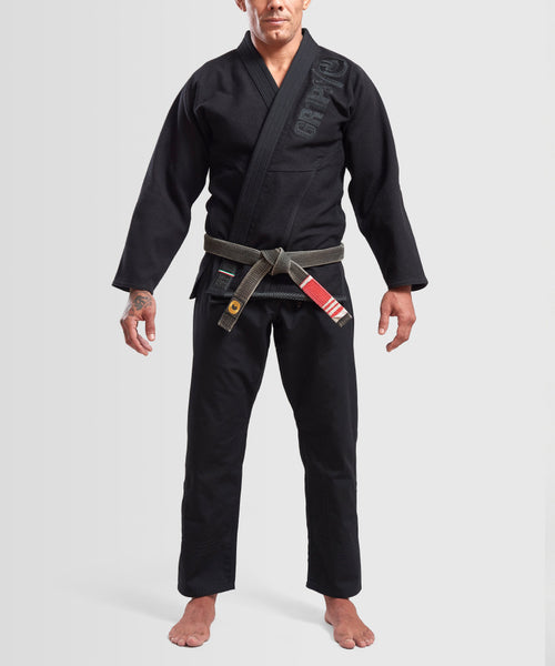 "Grips ""The Italian"" BJJ Gi - Black"