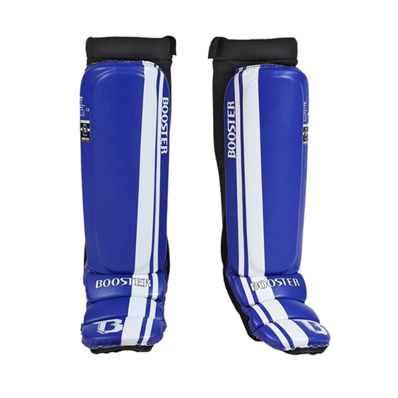 Booster MMA Shin and Instep - Blue/White