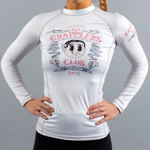 "93brand ""Bad Grapplers Club"" Women's Rash Guard"