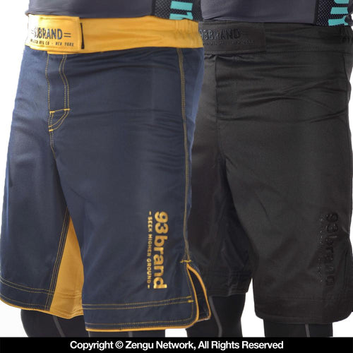 93brand Standard Issue Shorts 2pack (Black/Black,Navy/Gold)
