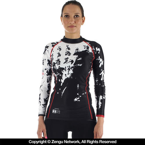 "93brand ""Art of War"" Women's Rash Guard"