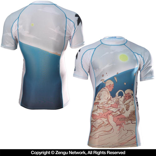 "93brand ""Beachside"" Rash Guard"