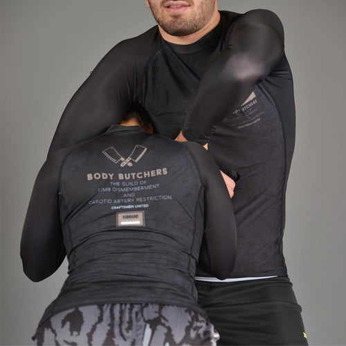 "93brand ""Body Butchers 2.0"" Men's Rash guard"