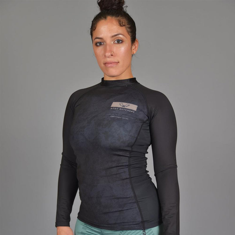 "93brand ""Body Butchers 2.0"" Women's Rash guard"