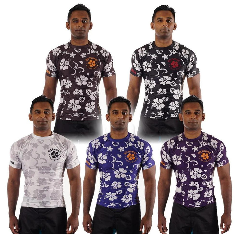 "93brand ""Aloha"" Ranked Rash Guard"