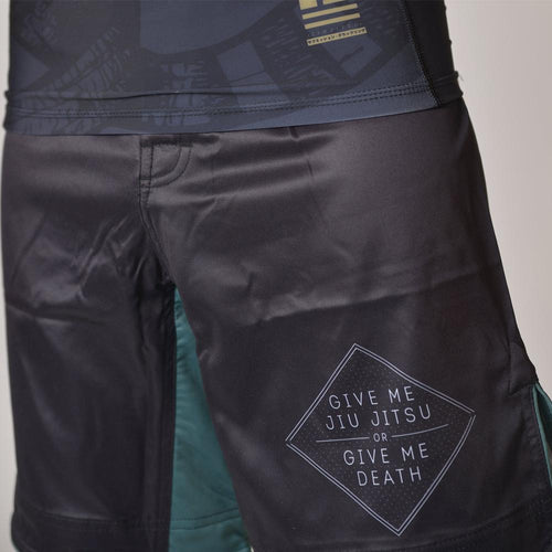 "93brand ""Jiu Jitsu or Death"" Regular Fit Shorts"
