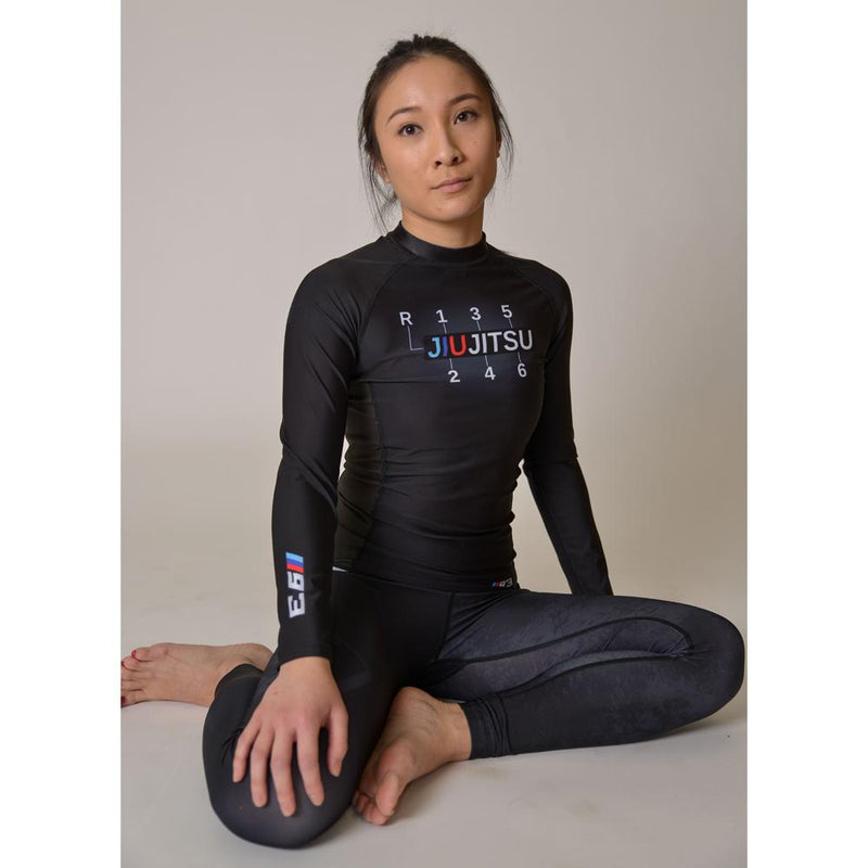 "93brand ""M93"" Women's Rash Guard"