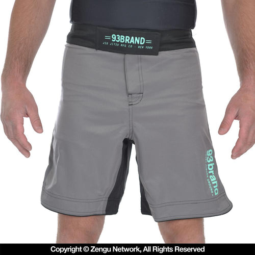 "93brand ""Standard Issue"" Shorts - Charcoal/Mint"