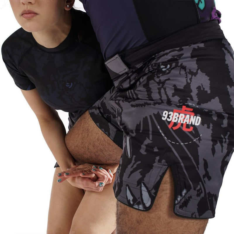 "93brand ""Dark Tiger"" Shorter Cut Shorts"