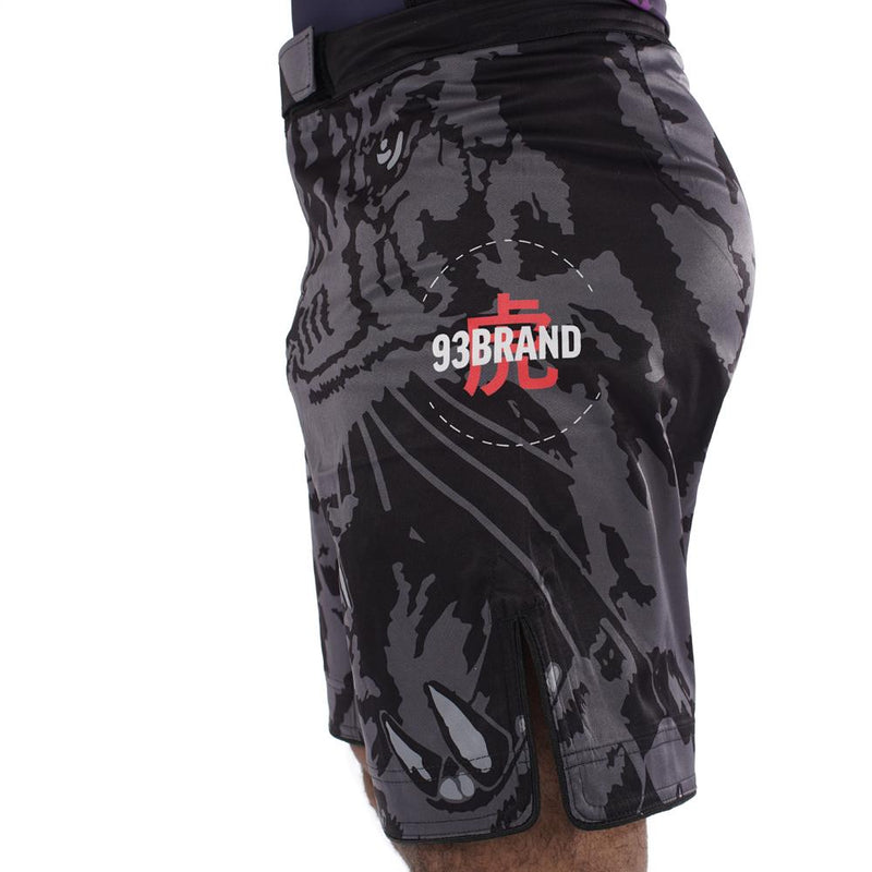 "93brand ""Dark Tiger"" Regular Cut Shorts"