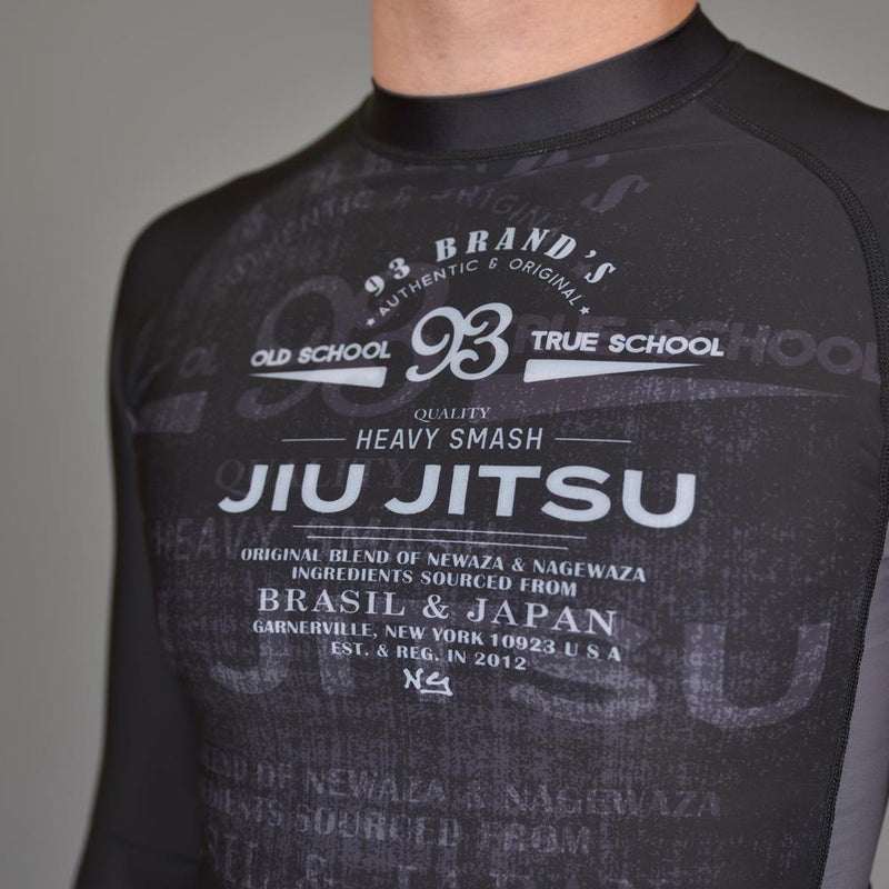 "93brand ""Vintage 2.0"" Men's Rash Guard"