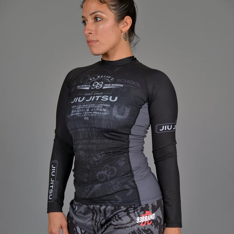 "93brand ""Vintage 2.0"" Women's Rash Guard"