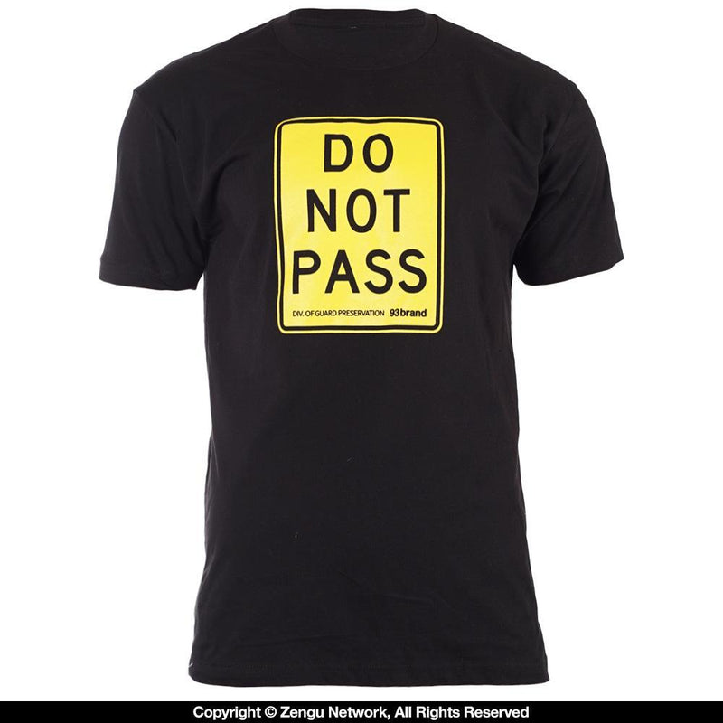 "93brand ""DO NOT PASS"" Shirt"