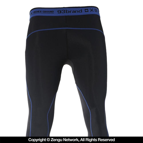 "93brand ""Standard Issue"" Spats Black/Blue"