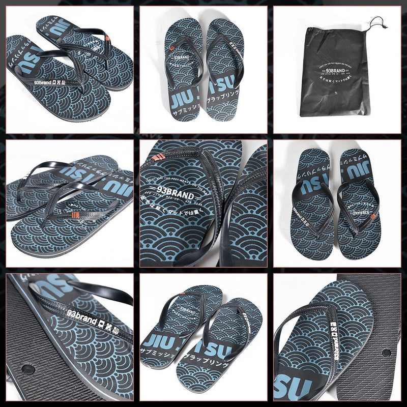 "93brand ""Light on the Feet"" BJJ Flip Flops"