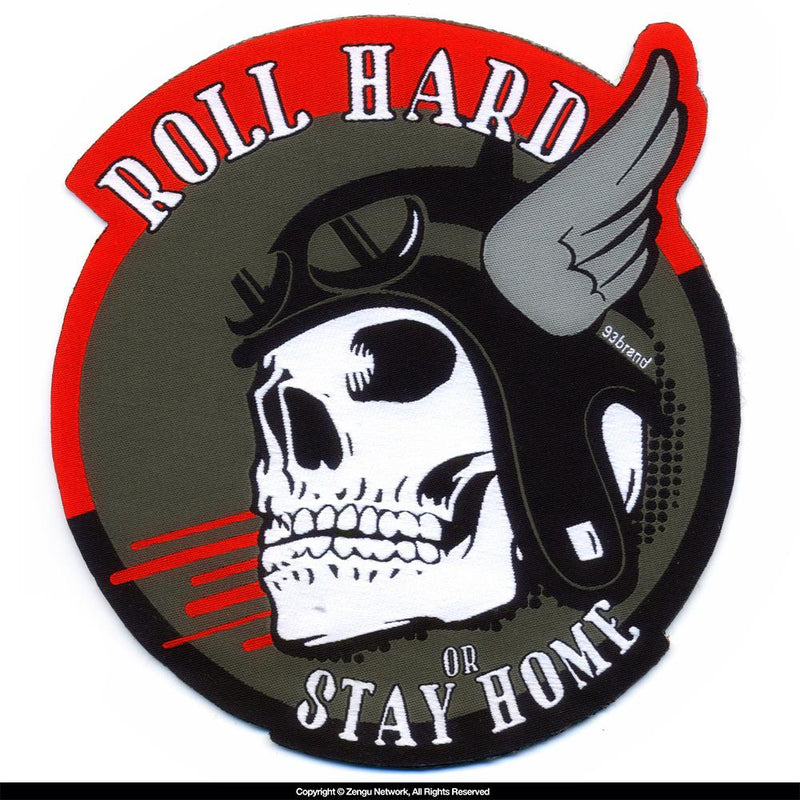 "93brand ""Roll Hard"" BJJ Gi Patch"