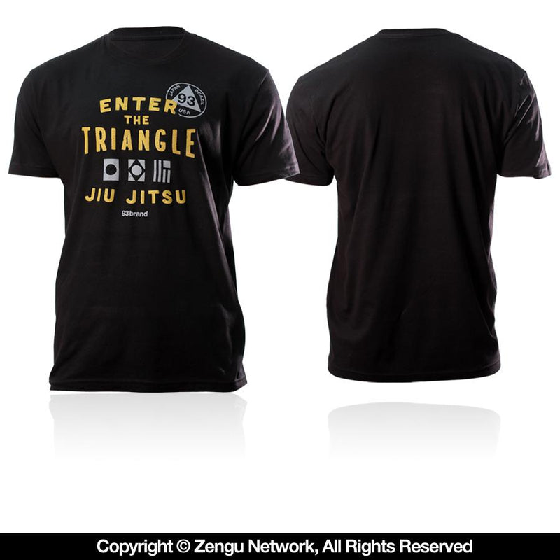 "93brand ""Enter the Triangle"" Tee"