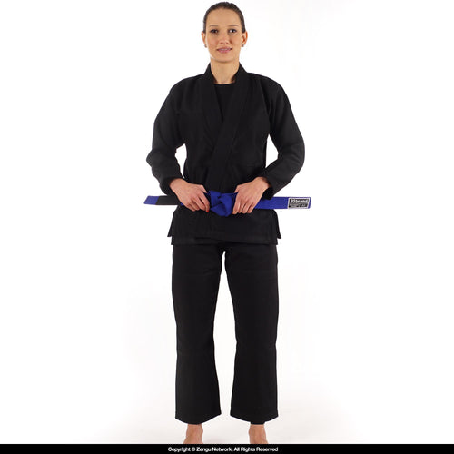 93brand Standard Issue Women's Black BJJ Gi