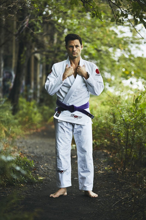"Flow Kimonos ""Air"" BJJ Gi - White"