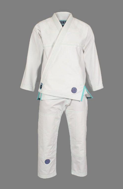 "Inverted Gear ""Bamboo"" BJJ Gi - White"