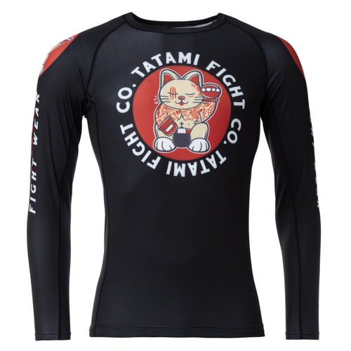 Tatami Cat Fighter Eco Tech Recycled Rash Guard