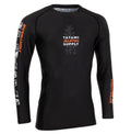 Tatami Tropic Long Sleeve Rash Guard - Black